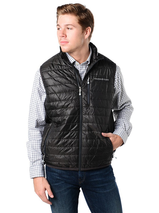 Vineyard Vines Puffy Vest (Black)