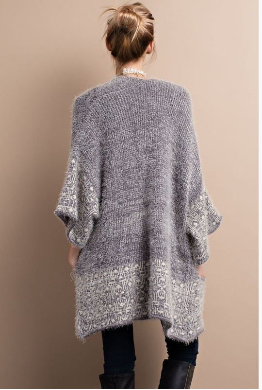 2 Tone Mohair Sweater