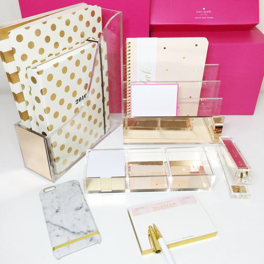 Strike Gold File Organizer by Kate Spade