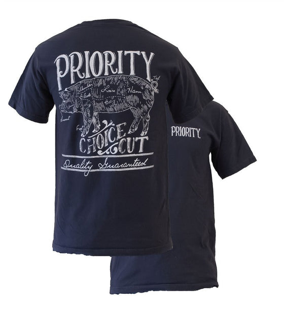 PRIORITY CHOICE CUT T-SHIRT