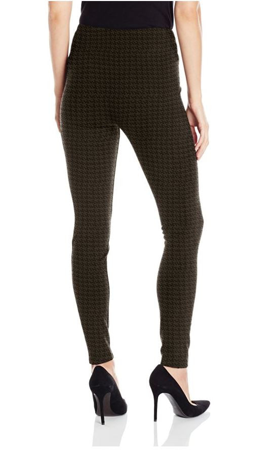 Reese Hounds-tooth Knit Sienna Pull On Legging