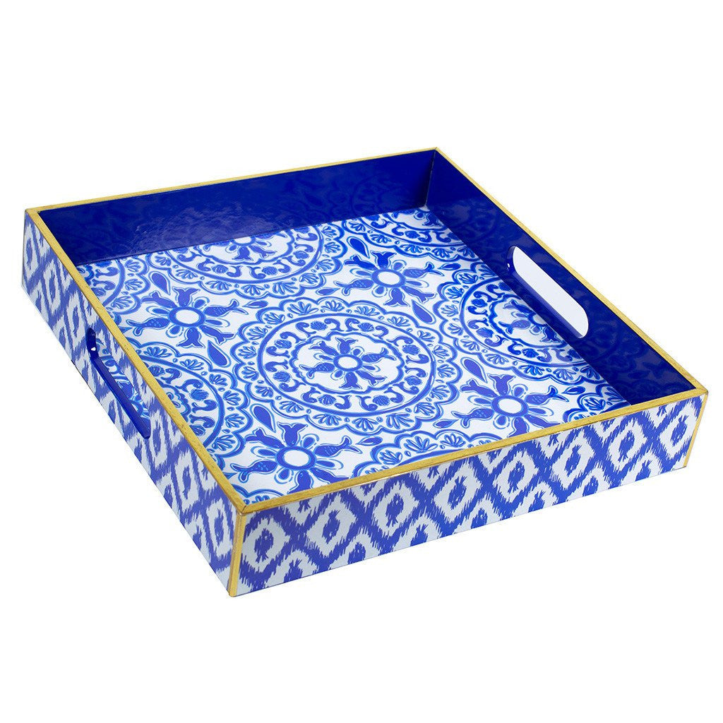 Lilly Pulitzer Lacquer Tray - Pooling Around