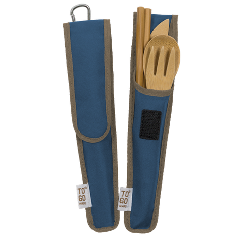 """RePEaT"" Bamboo Utensil Set 