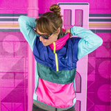 Exclusive Teca Windbreaker (Half-Zip) - Unisex - Blue Crush