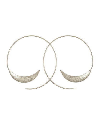 Solstice Earrings Silver