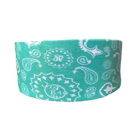 Double The Mint Paisley Tube Turban