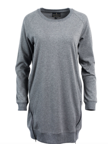 Lundy Dress | Heather Gray