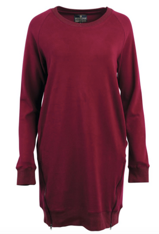 Lundy Dress | Maroon