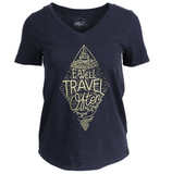 """Eat Well Travel Often"" Tee 