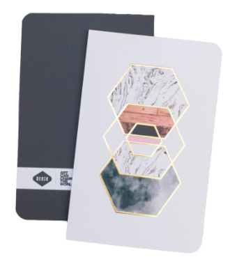 Gold Hexes Notebook