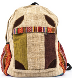 Hemp Backpack | Triple Striped