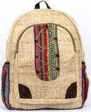 Hemp Backpack | Lace Face