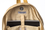 Hemp Backpack | Heavy-Duty | Beige Padded Interior