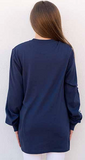MANTA RAY NAVY LONG SLEEVE