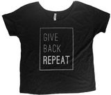 Give. Back. Repeat Shirt