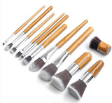 Bamboo Makeup Brush Set | 11 Piece | Cruelty-Free
