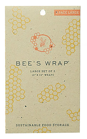 Bee's Wrap | LARGE SET OF 3 WRAPS