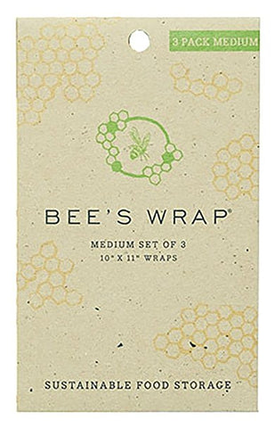 Bee's Wrap | MEDIUM SET OF 3 WRAPS