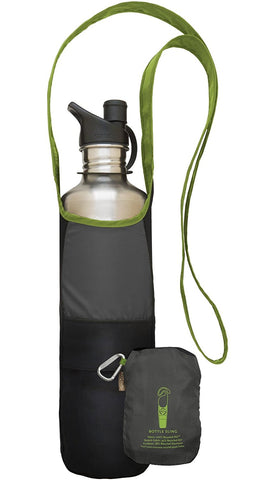 Travel Bottle Sling | Green