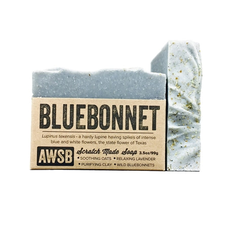 Blue Bonnet Natural Handmade Soap