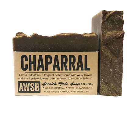 Chaparral Natural Shampoo & Body Bar | Zero Waste