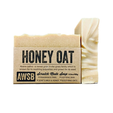 Honey Oat Natural Handmade Soap