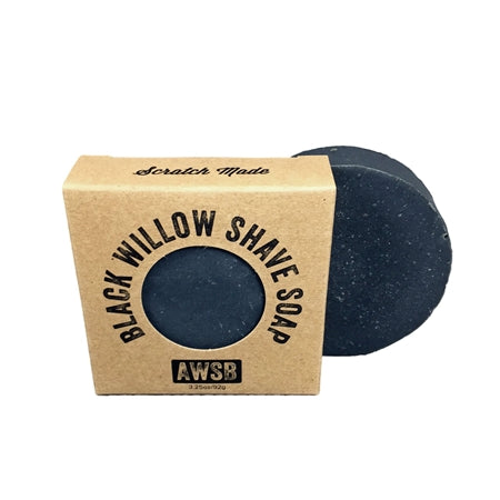 Black Willow Natural Shave Soap