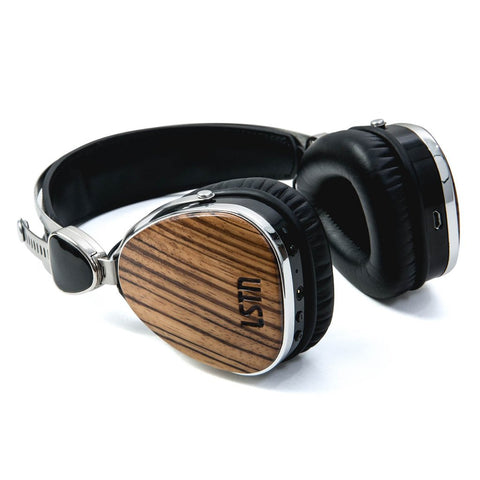 Wireless Zebra Wood Troubadour
