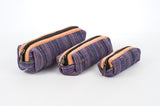 "Pure Hemp Pencil Case | Purple | ""Matryoshka"" Style 