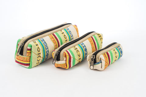 "Pure Hemp Pencil Case | Prinetemps | ""Matryoshka"" Style 