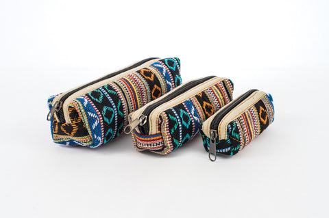 "Pure Hemp Pencil Case | Rings | ""Matryoshka"" Style 