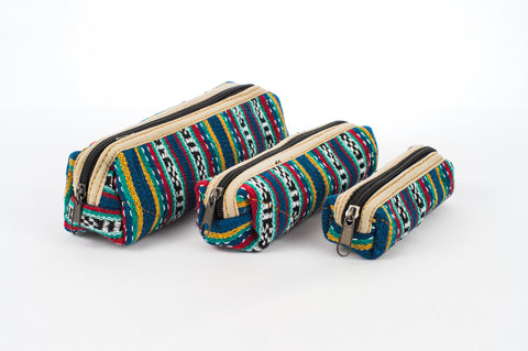 "Pure Hemp Pencil Case | Seas the Day | ""Matryoshka"" Style 