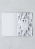 Faded Stripes Notebook