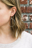 Olivia Earrings - Brass