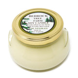 GLASS TUREEN JAR SOY CANDLE FIR NEEDLE NATURAL 20OZ