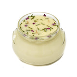 GLASS TUREEN JAR SOY CANDLE BEACH ROSE FIR 20OZ