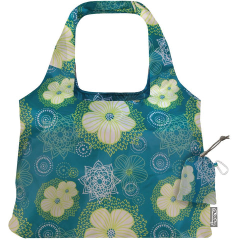 Vita Solstice Water Blooms | Chicobag | Reusable foldable bag
