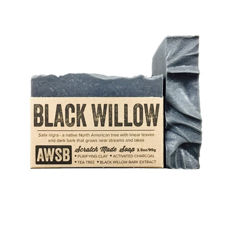Black Willow Natural Handmade Soap | Zero Waste Packaging