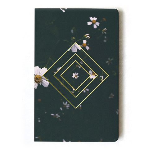 Emerald Floral Notebook