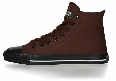 FAIR TRAINER BLACK CAP HI CUT COLLECTION 17 NUT BROWN | JET BLACK
