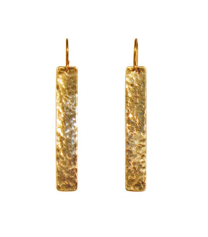 Horizon Earrings - Brass