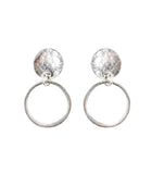 Noble Earrings | Silver