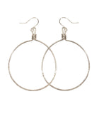 Olivia Earrings - Silver