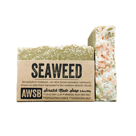 Seaweed Scratch Made Soap