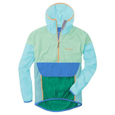 Exclusive Teca Windbreaker (Half-Zip) - Unisex - Cliff Diver