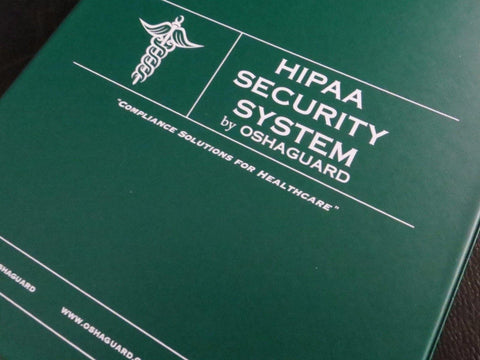 2018-2019 HIPAA Security Manual with Training - Oshaguard