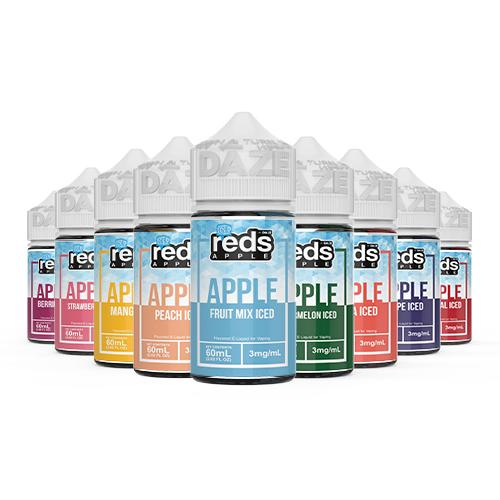 7Daze REDS ICE Series (60ML) E-Juice Juice Supply Company
