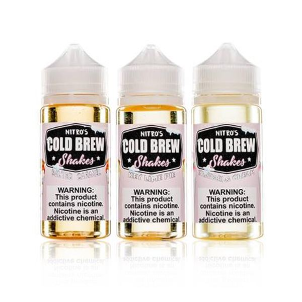 Nitro's Cold Brew Shakes Collection (100ML) E-Juice Ejuicedepo