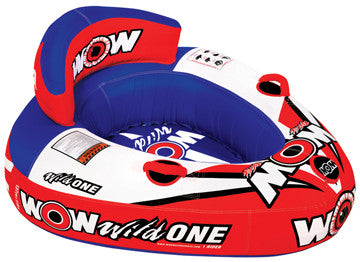 "11-1100 Wow World of Watersports Wild One Cockpit Towable Wild One, 54"""" X 48"""", 1-Rider  (while Qtys Last)"