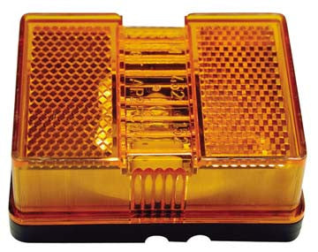 E147a Anderson Marine Sealed Combo Reflector/side Clearance Light Clearance Light / Amber (while Qtys Last)